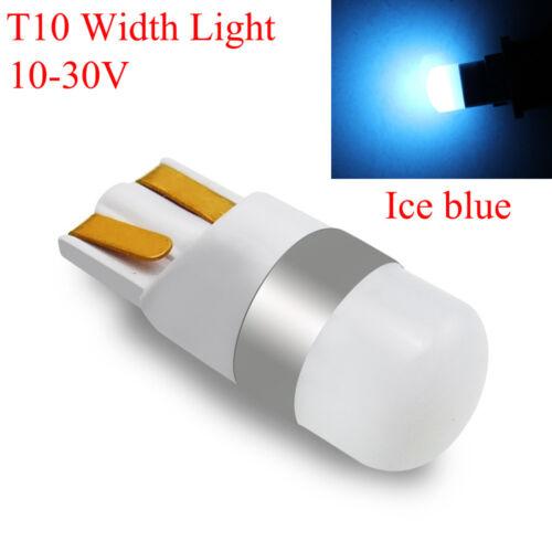 Interior 12-24V Car Width Light 3D Ceramic Reading Bulb T10 LED W5W 3030 SMD