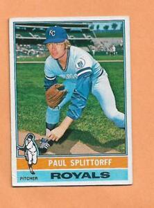 Paul Splittorff Topps 1976 Carte #43 Fqlbmapy-08003831-205948431