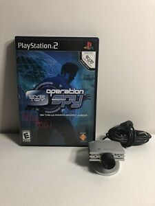 Sony-PlayStation-2-Eye-Toy-Operation-Spy-with-Silver-Eye-Toy-Camera
