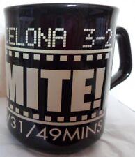 NEWCASTLE UNITED V BARCELONA 3-2  TINO-MITE 17.09.97  22/31/49mins BLACK MUG