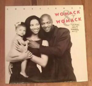 Womack-amp-Womack-Conscience-Vinyl-LP-Album-Gate-33rpm-1988-BRLP-519
