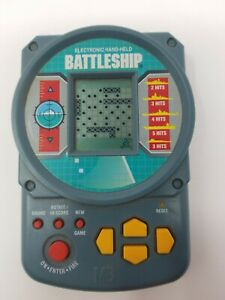 Hasbro 2002 Handheld Electronic Battleship Game Travel Size Ebay