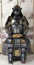Japanese wearable Rüstung Samurai Armor Peach Ghost Toyotomi family Silver O26