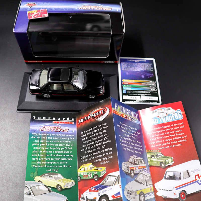 Corgi    1 43 LLEDO Vanguards Ford Sierra Sapphire GLS VA09901 Limit Edition 7d5080