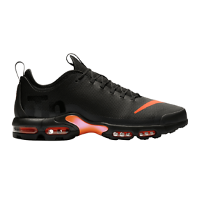 newest 0e37b c29b3 Details about Mens NIKE AIR MAX PLUS TN ULTRA SE Black Trainers AQ0242 001