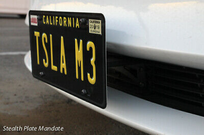 Quality Front License Plate Bracket Assembly for Tesla ...