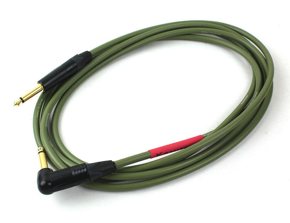 KAMINARI K-BC3LS 3m 9.8ft ss ss ss Bajo Eléctrico Guitarra Instrumento Cable De Alta Calidad 788057