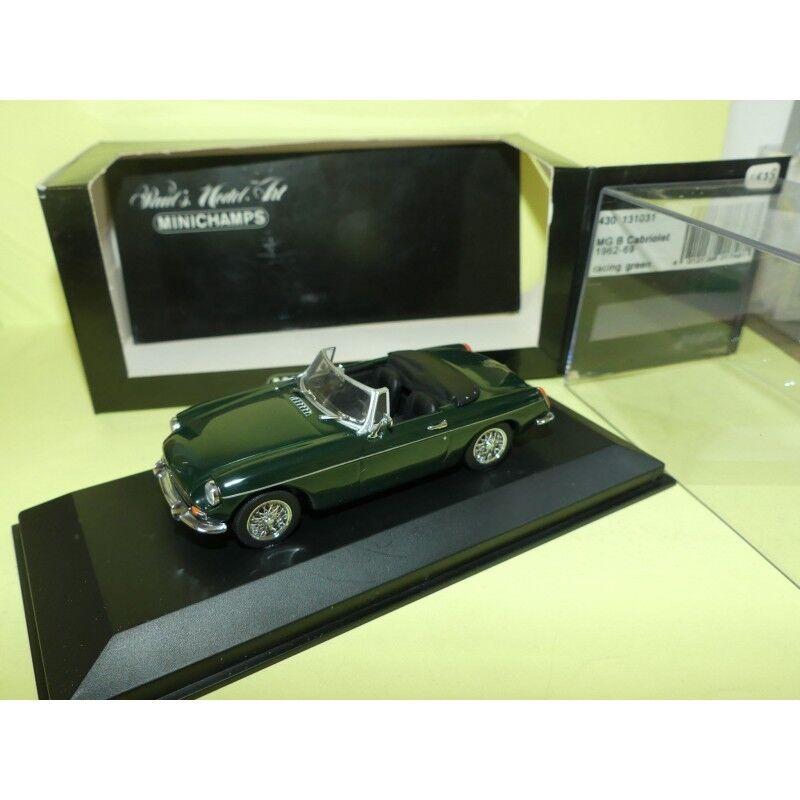 mejor vendido Mg Mg Mg MGB CABRIO 1962-69 verde MINICHAMPS 1 43  más descuento