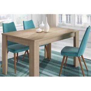 Tavolo allungabile 6 posti rovere canadian arredo casa cucina 140 190x90x78 cm ebay - Misure tavolo 6 posti ...