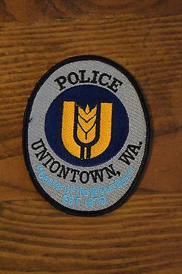 COLVILLE WA TRIBAL ENFORCEMENT  SHOULDER POLICE PATCH ARROWHEAD