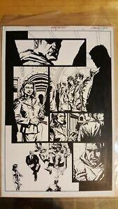 Batman / Deathblow #1 p. 3 Original Comic Art Lee Bermejo
