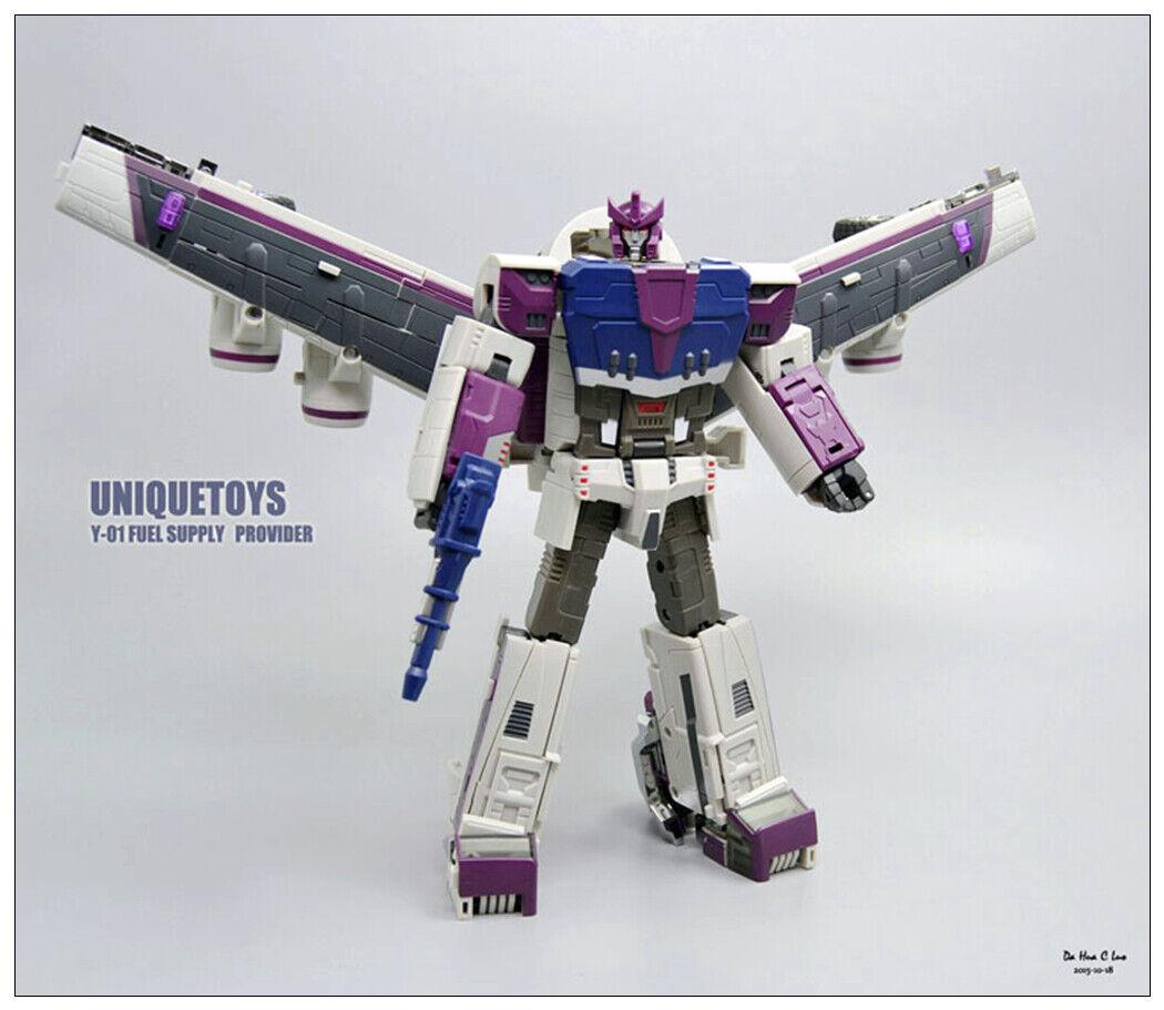 Pre-order Transformers Unique toys UT Y-01 Fuel Supply Provider G1 Octane