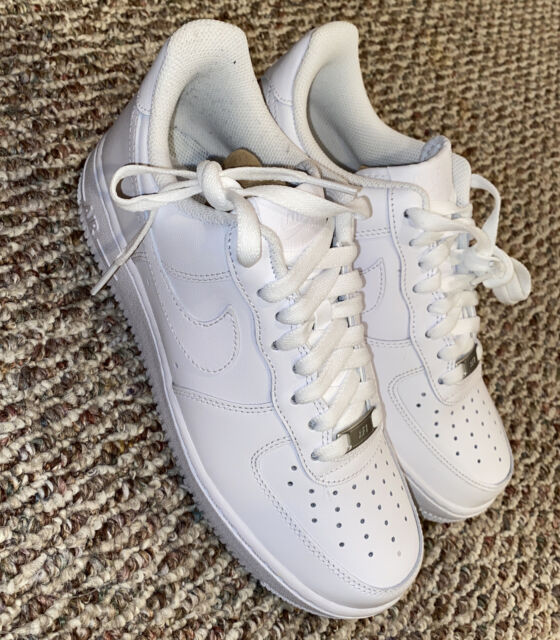 Nike Air Force 1 Women's Size 9 Triple White New Shoes 315115-112
