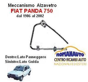 ALZAVETRI ELETTRICO ANTERIORE SINISTRO DAL 1986 AL 2002