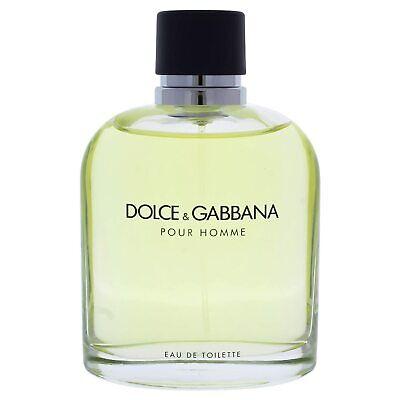 D G Pour Homme Dolce Gabbana Men Eau De Toilette 125 Ml Perfume Ebay