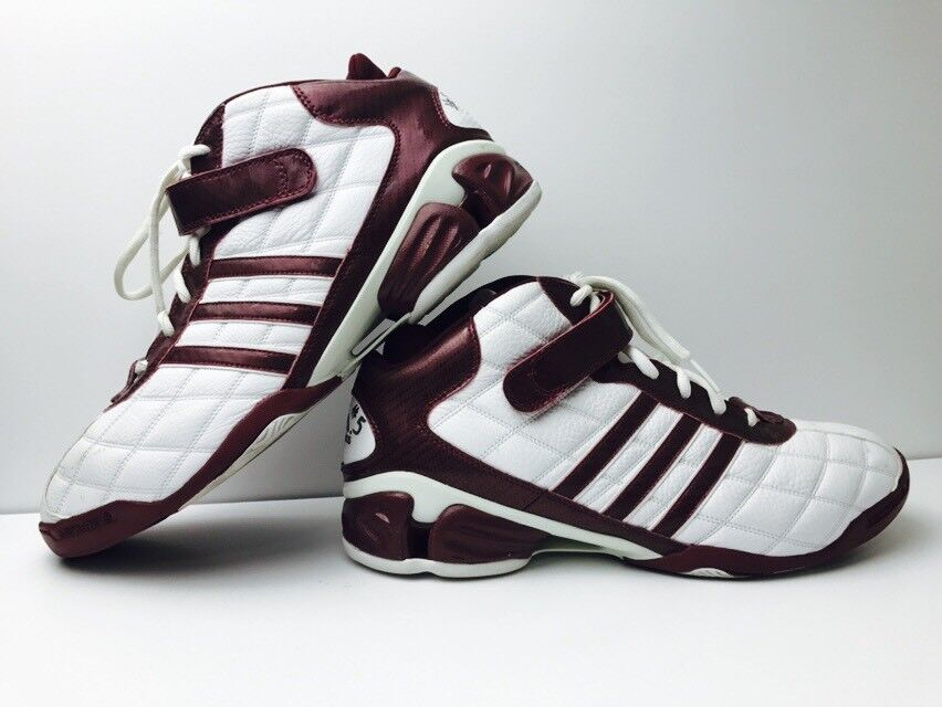 Adidas IU Indiana University PE Game Used Basketball Shoes Size 15 Rare Marco