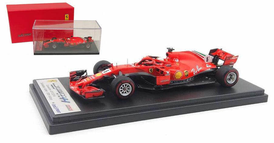 LookSmart LSF1015 Ferrari SF71-H' 50th GP ganar  2018 Sebastian Vettel 1 43 Escala