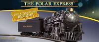 Lionel Ho 6-58018 & 58019 Polar Express Train Set W/ Locomotive Tender 3 Pk Cars