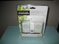 Mini Multi Media Speakers For Use With Mp3 Players,ipods Or Laptops-new