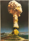 (PRL) 1978 MUSHROOM CLOUD NUVOLA VINTAGE AFFICHE PRINT ART POSTER COLLECTION