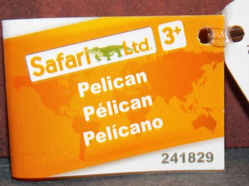 Dollhouse Miniature Pelican Animal Safari LTD 2 inches tall P86 Dollys Gallery