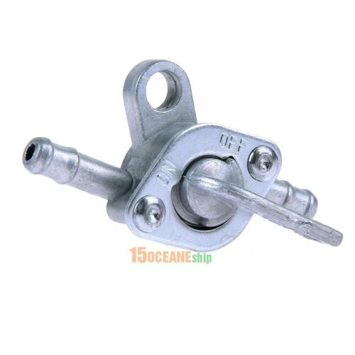 """1//4/"""" Inline Oil Gas Fuel Tank Tap Filter Petcock Switch for PIT Dirt Bike 125cc"""