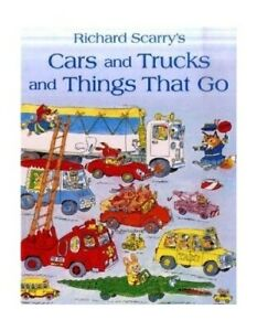 Cars Trucks And Things That Go By Scarry Richard Hardback Book The Fast Free 9780007310487 Ebay