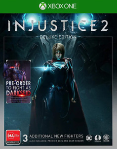 Injustice 2 Deluxe Edition Xbox One Game NEW