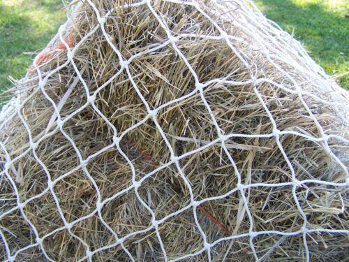 """Horse Hay Round Bale Net Feeder Save $$ Eliminate Waste 6/' x 6/' Bale 1 7//8/"""" #42"""