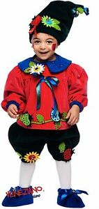 Outfit Dress Yrs Boys 0 Made Fancy Italian Flowerpot Deluxe 3 Baby Costume Gnome zZw7xq0E