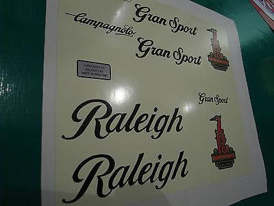 Raleigh Gran Sport decal set 1980/'s type.