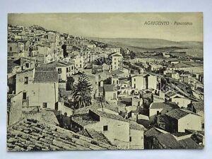 AGRIGENTO-panorama-vecchia-cartolina