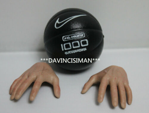 Custom Handmade 1/6 magnet basketball w/ hands #B fit enterbay michael jordan