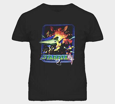 Star Fox N64 Video Game T Shirt