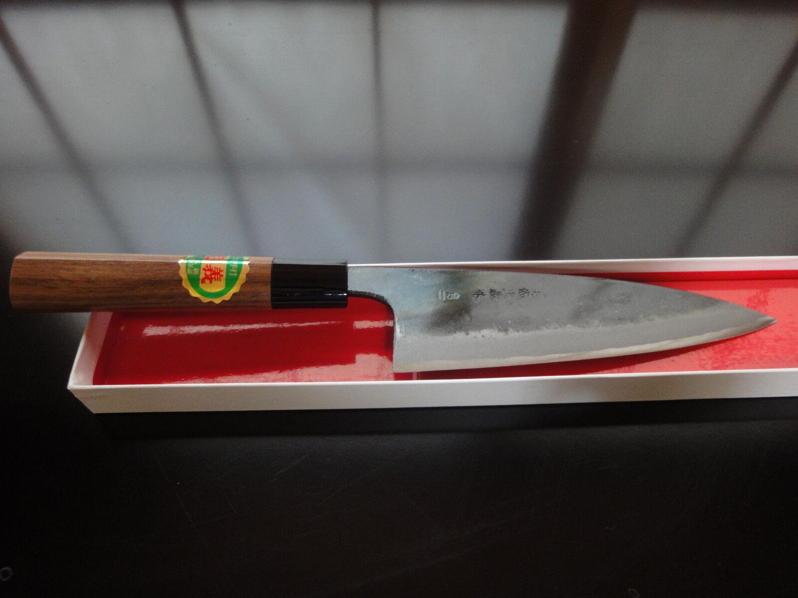 Japonais Professionnel Couteau Santoku (Lame  165 MM) bleustahl - 1 (AOGAMI - 1)