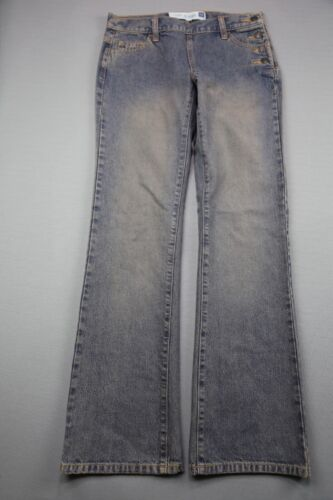 Vintage Women's 2003 Gap Jeans Button Side Boot Cu