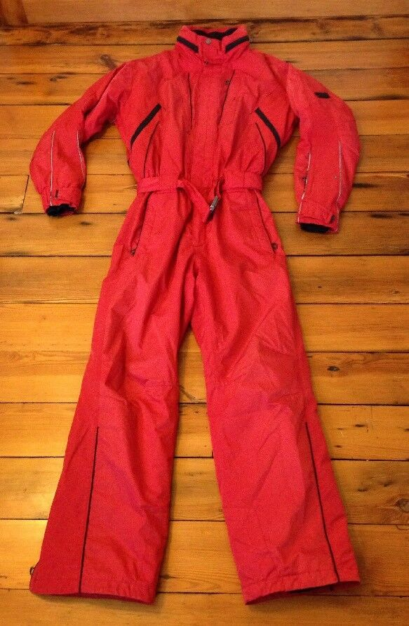 Killy Sport Recco French Ski Suit One  Piece Snowboard Jumpsuit 44 52 Chest 30x31  perfect