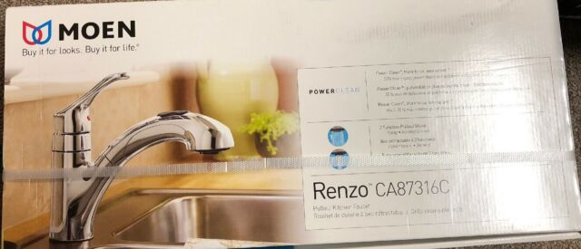 Moen Renzo Ca87316c Chrome 1 Handle