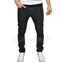 Soulstar Mens Designer Branded Slim Fit Straight Leg Jeans, BNWT