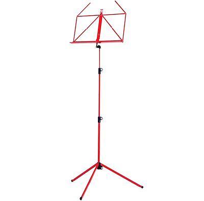 Verantwortlich K&m 100/1 Notenständer Notenpult Rot Musikinstrumente