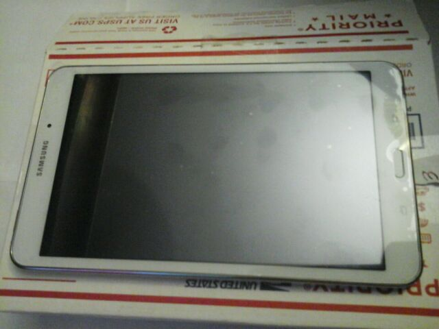 """Samsung GalaxyTab 4 SM-T337A8""""16GB Wi-Fi 4G (AT&T) white, nice condition pro own"""