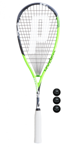 Prince-Hyper-Elite-500-Squash-Racket-3-Dunlop-Pro-Squash-Balls-2019