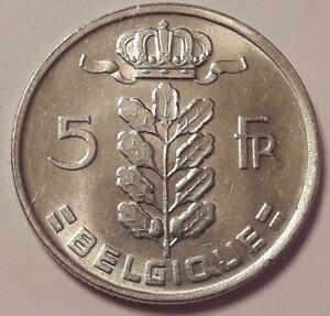 5-Francs-Ceres-RAU-Belgique-5-Frank-Belgie-1948-gt-1981-Belgium-KM-134-135