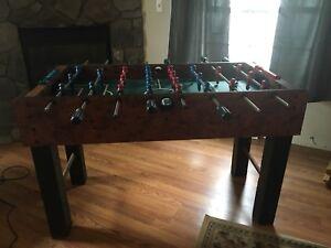 Image Is Loading Harvard Foosball Table