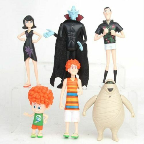 6PCS Hotel Transylvania 3 Kids Toys Model Action Figures Collect Decoration Gift