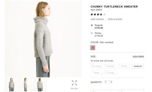 NWT £118 Designer J.CREW Italian Wool Alpaca Polo JUMPER  Grey Black Ivory Blue