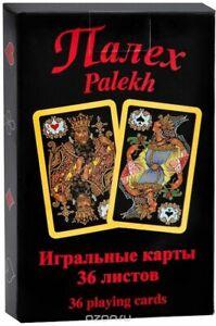 36 Russian Folk Art Palekh 1937 re-mastering Playing Cards PIATNIK Austria NEW