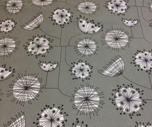 Ashley Wilde impresión Floral Algodón Tejido De Diente De León Tapicería//Cortinas//MANUALIDADES.