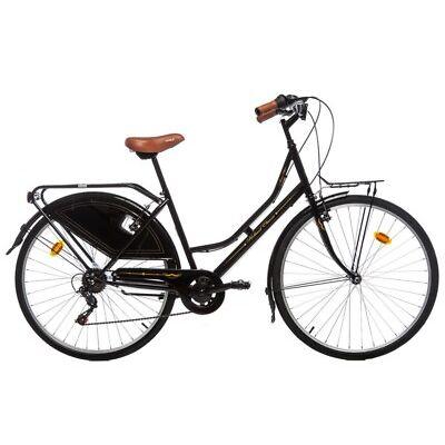 """VÉLO DE VILLE HOLLANDAIS Citybike, ROUE DE 28"""", HI-TEN, SHIMANO 6V"""