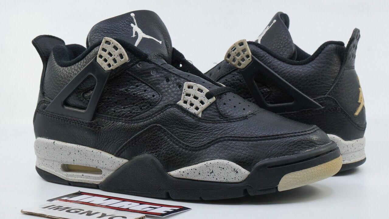 Air Jordan IV 4 Retro 1999 Neu Größe 8 Oreo black Zementgrey 136013 001